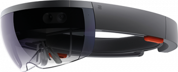 "Picture of Microsoft AR Device ""HoloLens"""