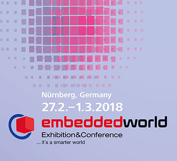 Embedded World 2018 Logo
